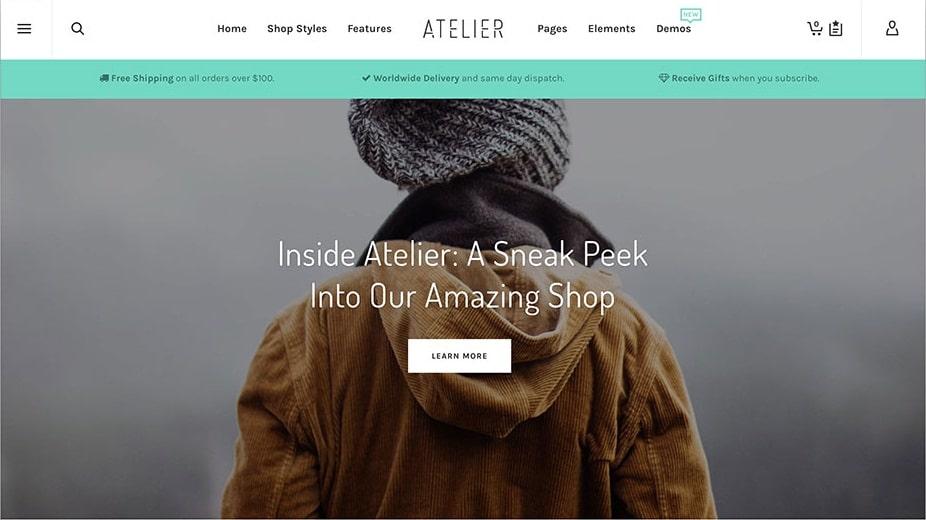 Atelier Multi-Purpose eCommerce Theme