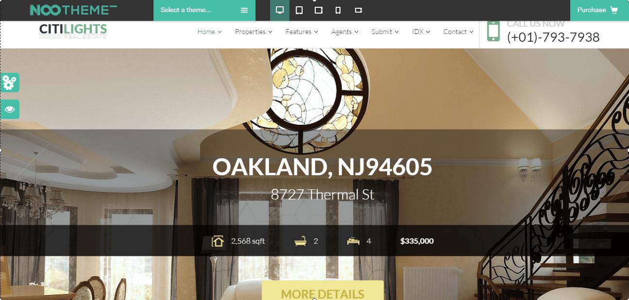 Wordpress Real Estate business