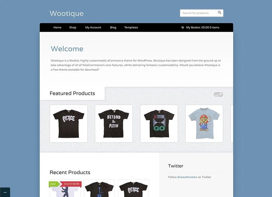 Wootique E-Commerce Theme