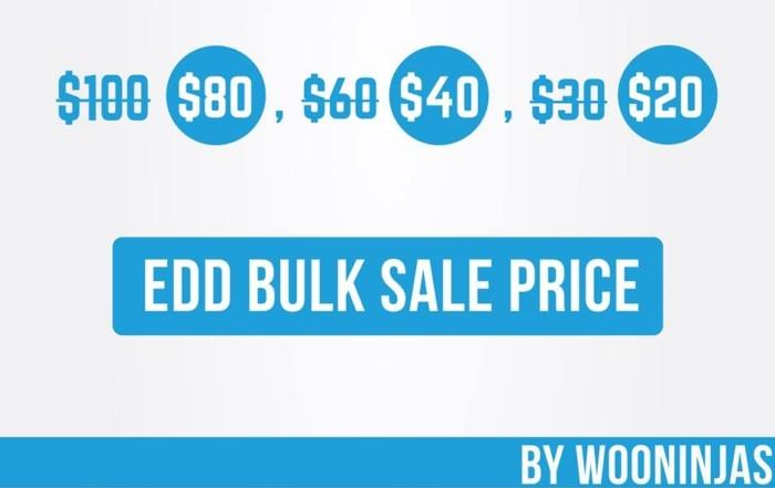 EDD bulk sale price