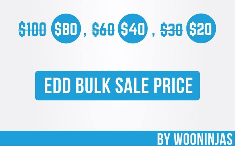 EDD bulk sale price