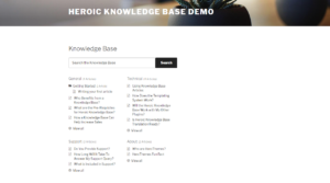 Knowledge base Plugins - Hero KB