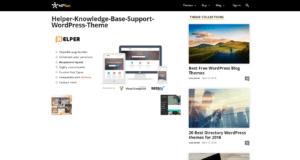 Knowledge base site - WP theme Helper