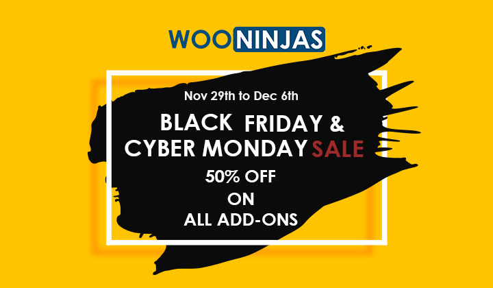 2019 Black Friday Sale 50 Off Our First Ever Wooninjas The Woocommerce Ninjas