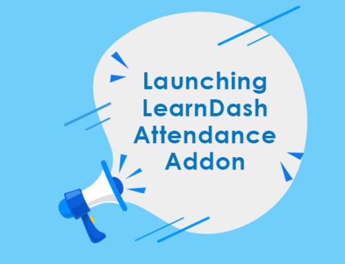 New Release: LearnDash Attendance Add-on