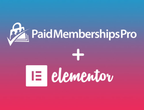 Using the PMPro Plugin with Elementor