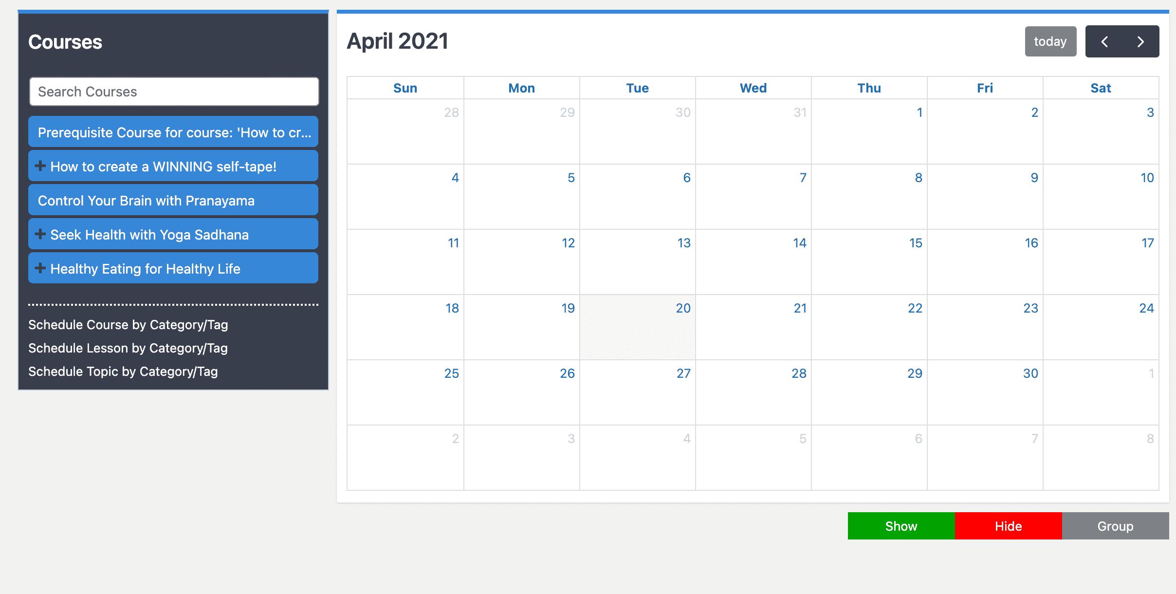 learndash course planner pro