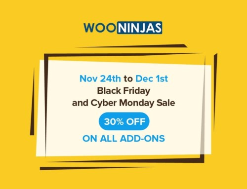 WooNinjas Black Friday and Cyber Monday deals – 30% off on all add-ons and extensions