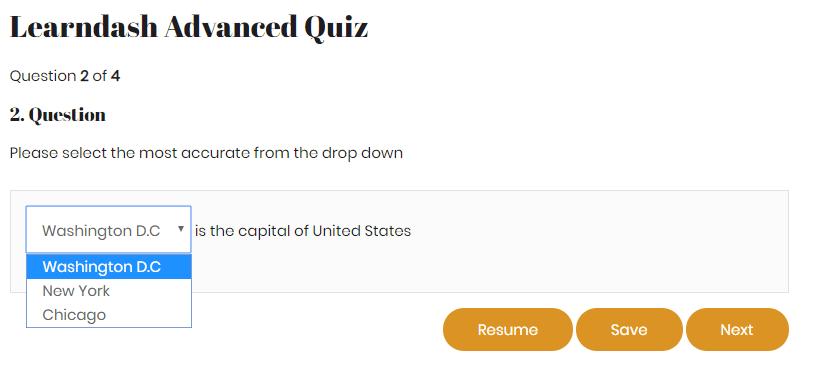learndash quiz questions