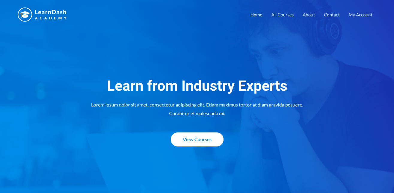 learndash academy astra starter template